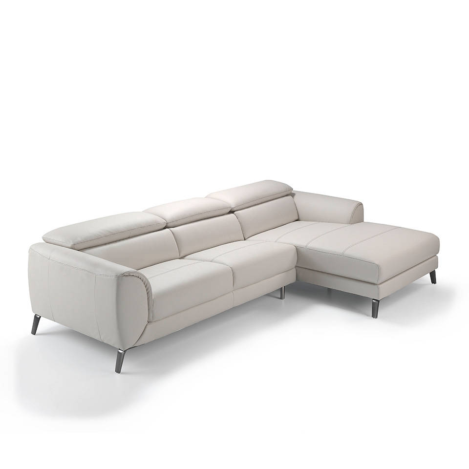 Sofas chaise longue modernos amazing sof de piel con for Chaise longue baratos