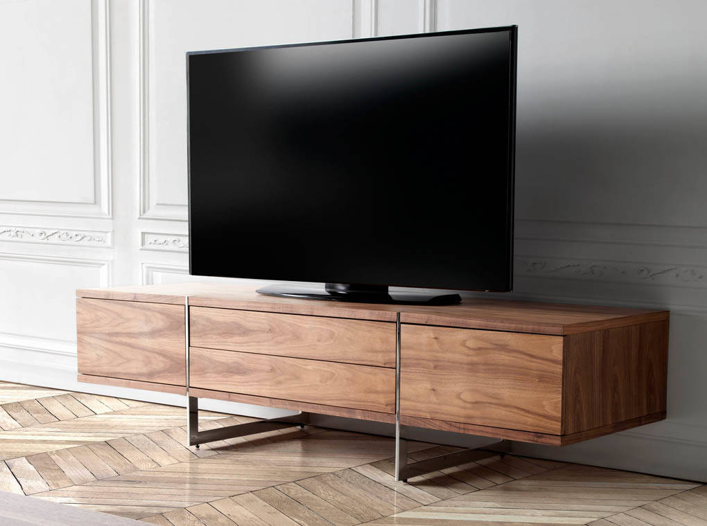 tv m bel nussbaum furniert designerm bel angel cerd. Black Bedroom Furniture Sets. Home Design Ideas
